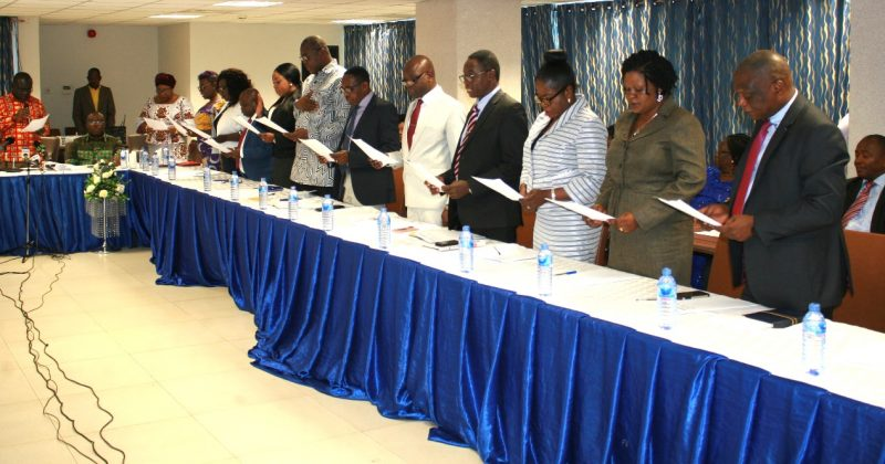 GHANA SHIPPERS' AUTHORITY BOARD INAUGURATED